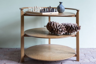 winby end table with shelves