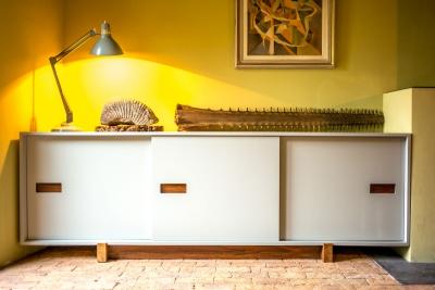 sliding cupboard